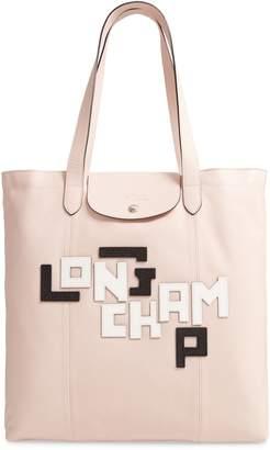 Longchamp Le Pliage Cuir Leather Tote