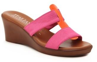 Italian Shoemakers Brae Wedge Sandal