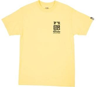 Salty Crew Wavy Palms Short Sleeve Tee (Banana) Men's Clothing