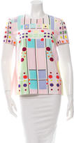 Peter Pilotto Printed Crew Neck Top w/ Tags