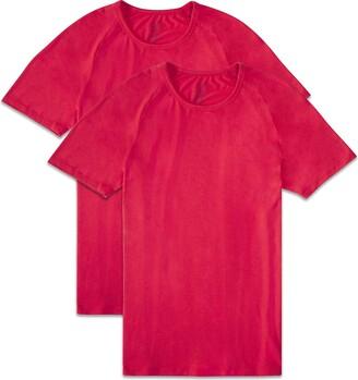 Fruit of the Loom Men's Short Sleeve Everlight Raglan T-Shirt