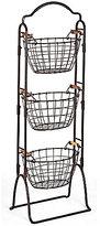 Mikasa Harbor 3-Tier Wire Market Basket