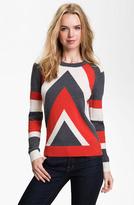 'Intarsia' Stripe Sweater