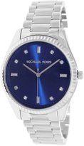 Michael Kors Women's Felicity MK3225 Silver Stainless-Steel Quartz Watch with Dial