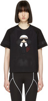 Fendi Black Karlito Leisure T-shirt