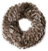 Adrienne Landau Real Fur Infinity Scarf