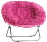 Himalayan Faux Fur Deep Pink Hang-A-Round Chair