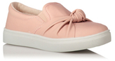 George Bow Front Slip On Pumps