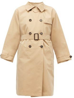 Max Mara Ctrench Coat - Womens - Beige