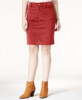 Celebrity Pink Juniors' Corduroy Pencil Skirt