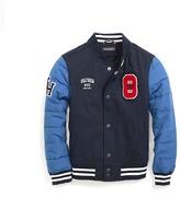 Tommy Hilfiger Th Kids Combo Varsity Jacket