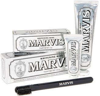 Marvis Whitening Mint & Toothbrush Set