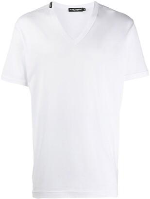 Dolce & Gabbana V-neck T-shirt