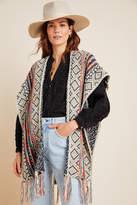 Anthropologie Penelope Fringed Kimono