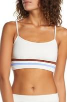 L-Space L Space Ren Stripe Detail Bikini Top