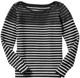 Gap Striped envelope sweater