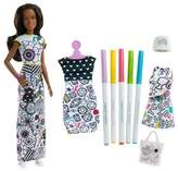 Barbie Crayola Color-In Fashions Nikki Doll