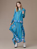 Diane von Furstenberg Side Tie Ruffle Skirt