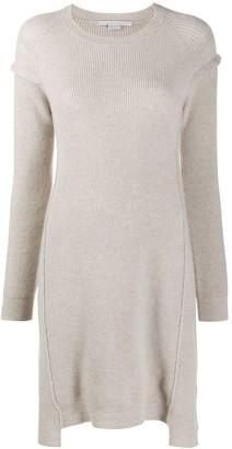 Stella McCartney Ribbed Knitted Dress