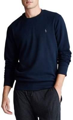 Polo Ralph Lauren Double Knit Jersey Long-Sleeve Tee