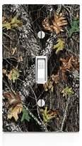MWCustoms Mossy Oak Pattern Camo Light Switch Plate