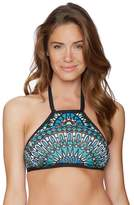 Athena Mali Medallion Geneva High Neck Bikini Top