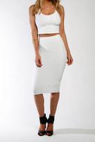 Donna Mizani Cropped Cami In White