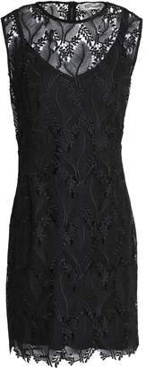 Diane von Furstenberg Guipure Lace Mini Dress