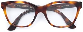 Gucci Crystal-Embellished Square-Frame Glasses
