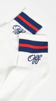 Off-White Medium College Socks