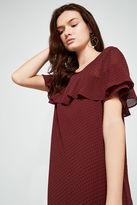 BCBGeneration Short-Sleeve A-Line Dress
