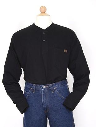 Riggs Workwear Mens Long Sleeve Henley