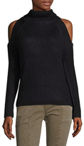 Lucca Couture Tatiana Cold Shoulder Sweater