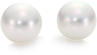 Mikimoto 11MM White South Sea Pearl & 18K White Gold Stud Earrings