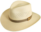 Tommy Bahama Men's Safari Panama Straw Fedora - Beige