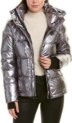 S13 Metallic Ella Down Coat