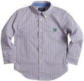 Chaps Boys 4-7 Woven Tattersal Button-Down Shirt