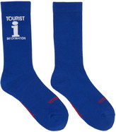 Vetements Blue Reebok Edition tourist Socks