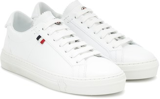 Moncler Alodie leather sneakers
