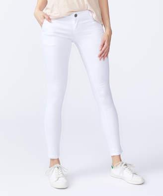 Vip Jeans VIP Jeans Women's Denim Pants and Jeans - White Slit-Pocket Skinny Jeans - Juniors