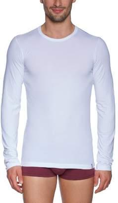 Schiesser Men's Shirt 1/1 Arm Vest, White (100-White)
