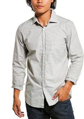 Reiss Varsity Garment Dyed Shirt