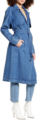 Vero Moda Denim Trench Coat