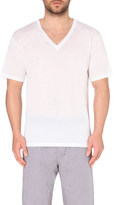 Hanro V-neck cotton t-shirt