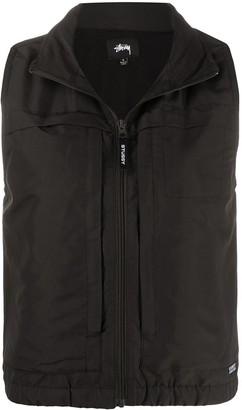 Stussy Plain Zipped Vest