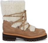 Marc Fisher Isha Shearling & Suede Outdoor Boots