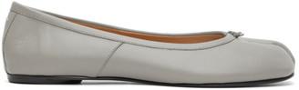 Maison Margiela SSENSE Exclusive Grey Tabi Ballerina Flats