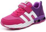 DADAWEN Boy's Girl's Mesh Athletic Shoes Casual Running Sneakers(Toddler/Little Kid/Big Kid)- 12 US