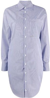 DSQUARED2 Pinstripe Shirt Dress