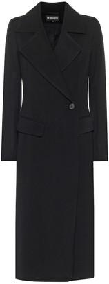 Ann Demeulemeester Wool and cotton gabardine coat
